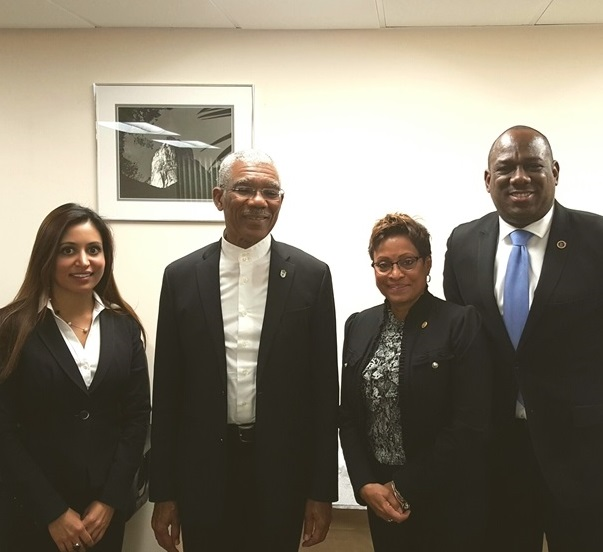 Guyana's NY Golden Jubilee Independence Committee Briefs President Granger On June 4 – 12 Celebration