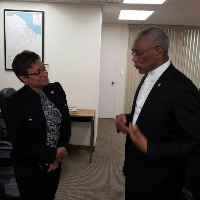 Private: GUYANA'S PRESIDENT DAVID GRANGER TO HEADLINE GUYANA JUBILEE WEEK IN NEW YORK