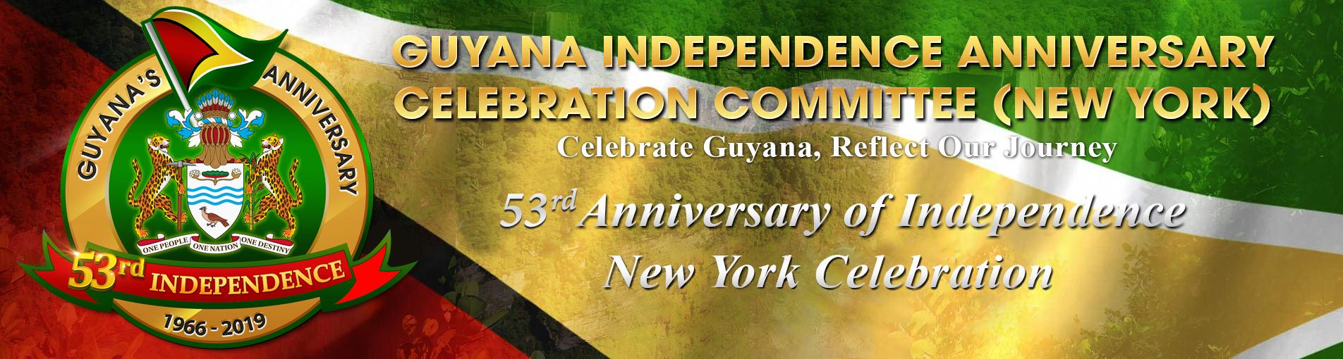 Guyana Anniversary | Guyana's 52nd Independence Anniversary