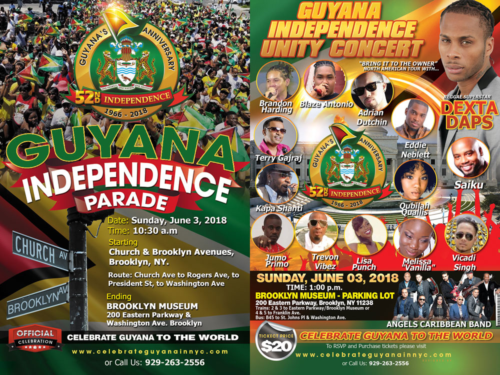 Independence Parade | Guyana's 52nd Independence Anniversary